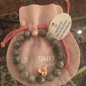 Soul journey labradorite bracelet